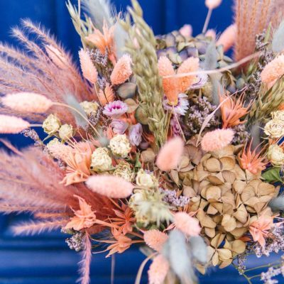 bouquet fleurs sechees